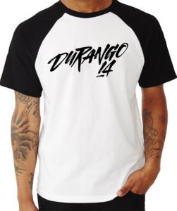 Durango14 camiseta Raglan Azul navy unisex Logo