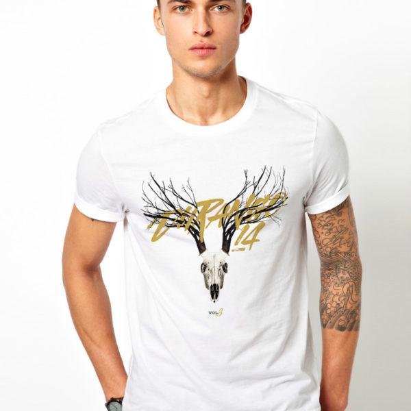 Camiseta hombre Durango14 Ciervo