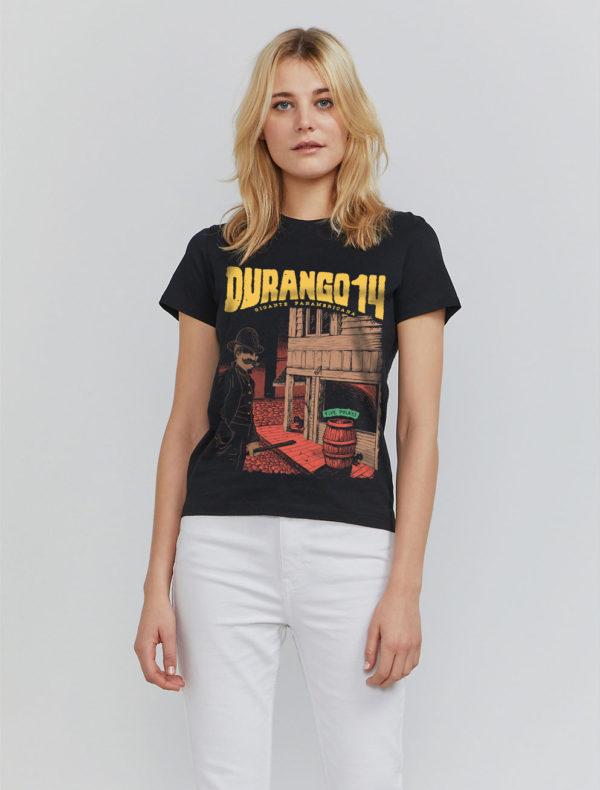 Camiseta chica negra Durango14 Five Points