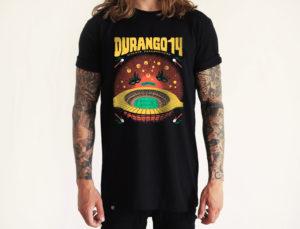 Camiseta Durango14 negra Maracana chico