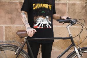 Camiseta Durango14 negra chico tigre Blanco